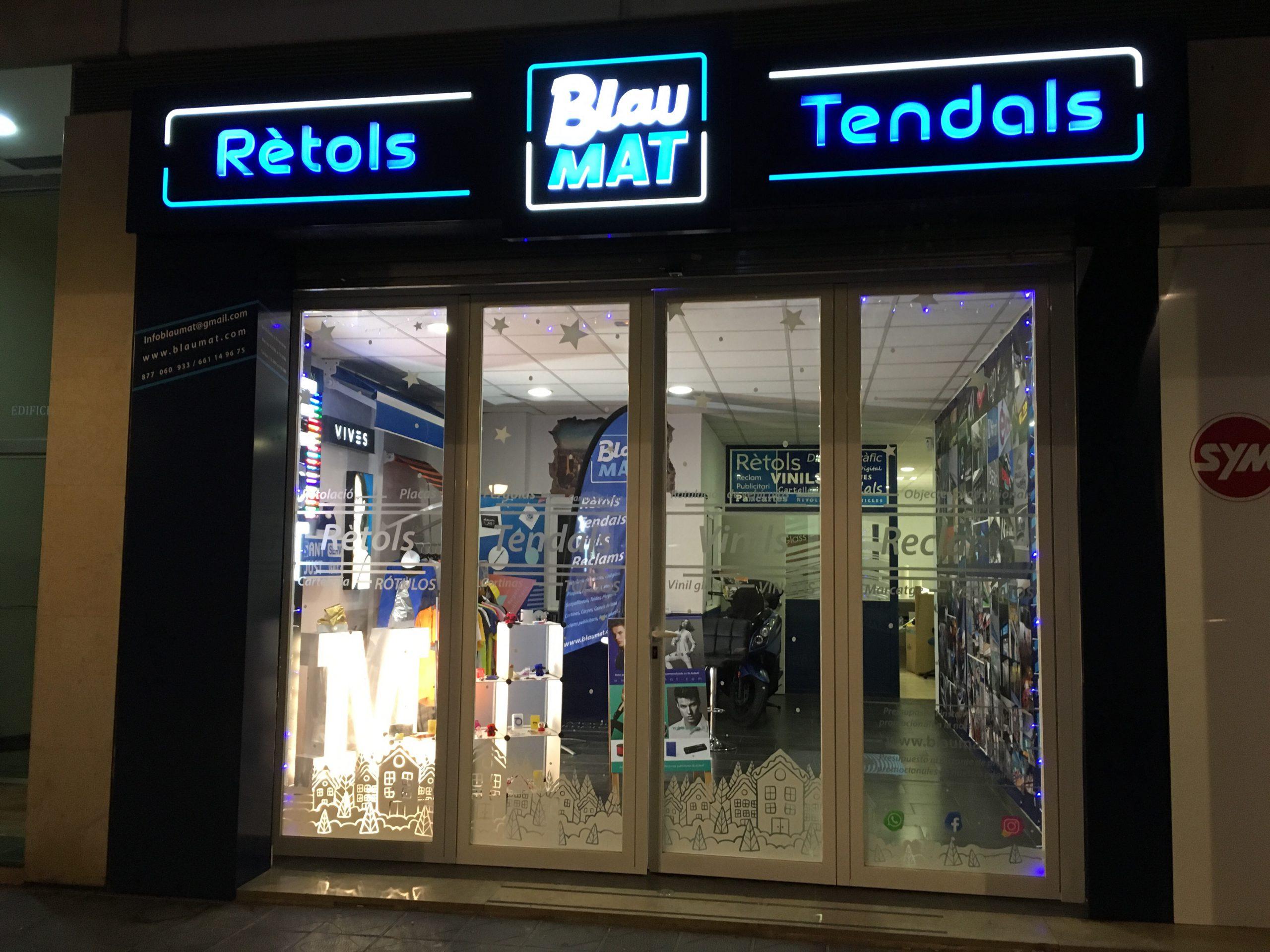 tienda de rótulos Blaumat TARRAGONA